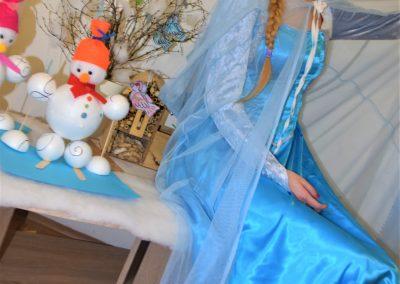 Anna a Elsa, Frozen animácia